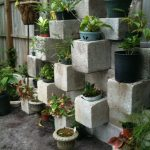 Cinder Block Vertical Planter