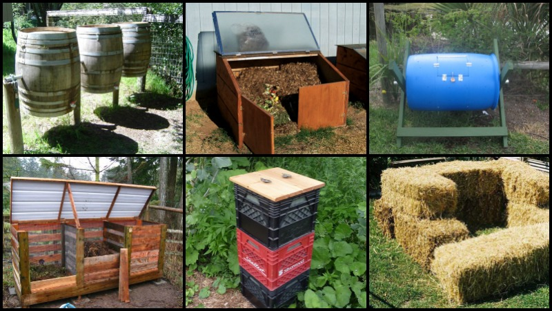 Diy Compost Bin Ideas The Garden