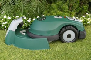 There are a few robotic lawn mowers to choose from but Tertill is the first domestic robitic weeded we've come across.