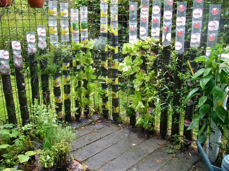 Save space with DIY Vertical Gardens | The garden!