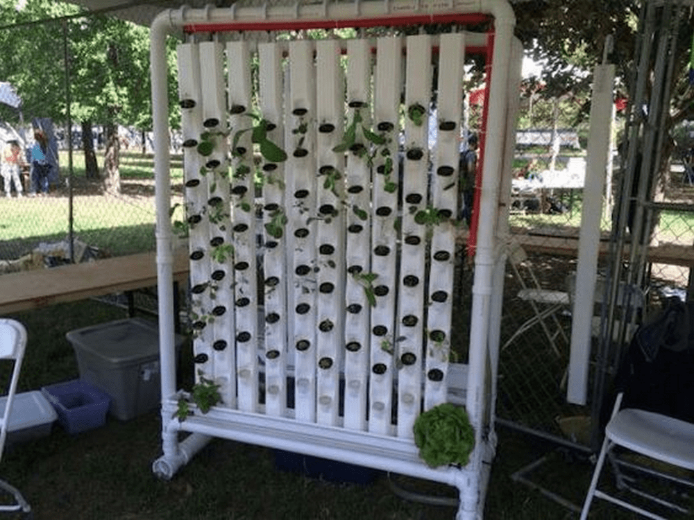 This strawberry tower will save you a lot of garden space!