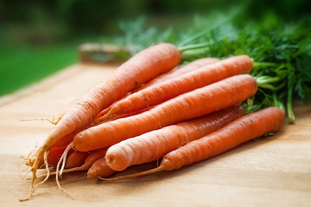 Carrots respond well to unexpected temperature fluctuations.