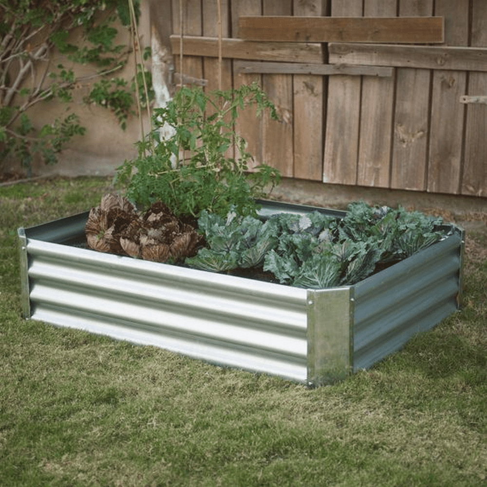20 Brilliant Raised Garden Bed Ideas You Can Make In A: Build Your Own Corrugated Metal Raised Bed