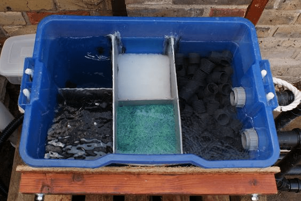 DIY Fish Pond Filter