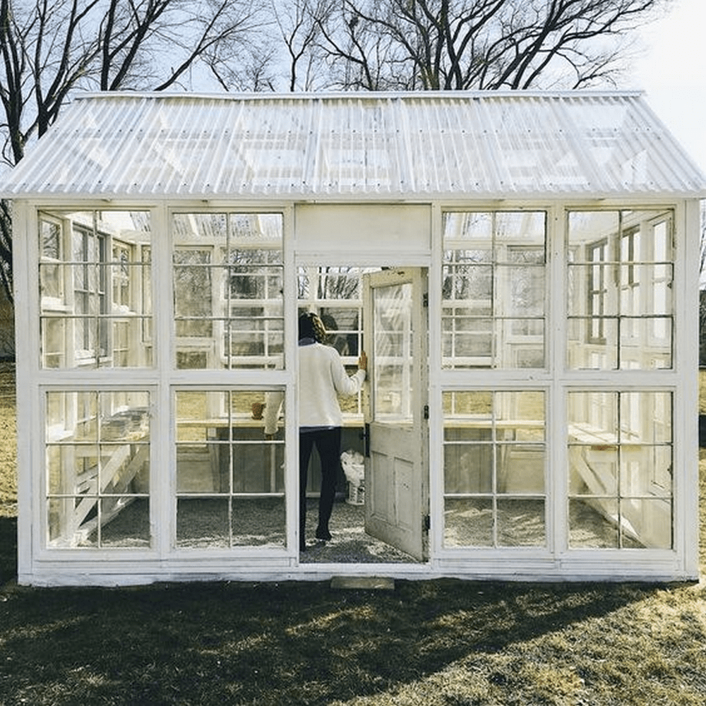 These greenhouses are both beautiful and functional!