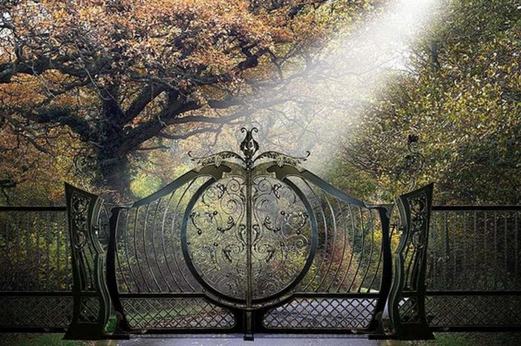 Make your guests feel welcome with a stunning garden gate.