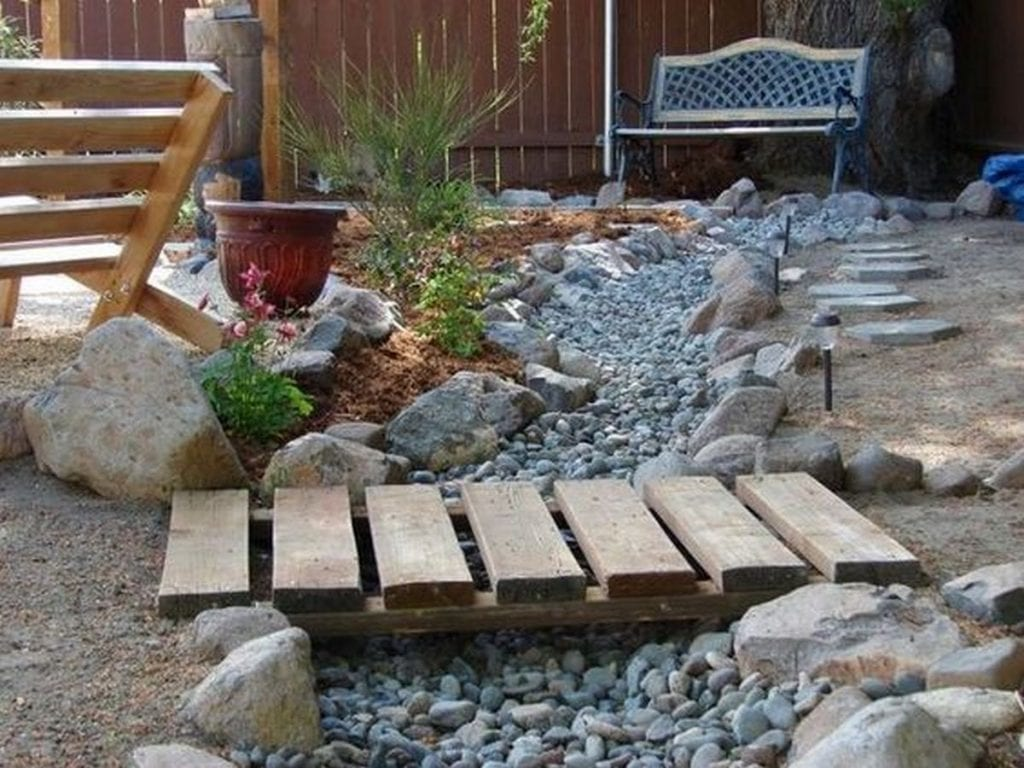 Inspiring Dry Creek Bed Garden Ideas