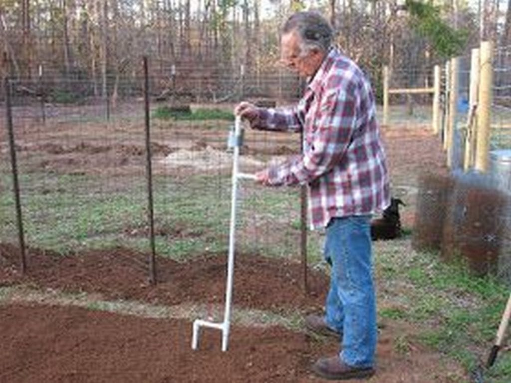 Hand-held seed planters can make gardening easier and a lot more fun.