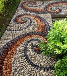 Mosaic Garden Path Ideas