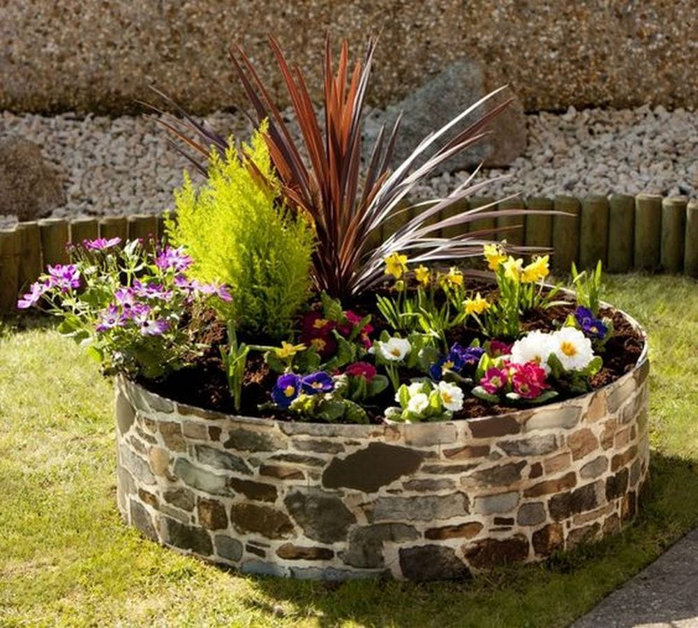 Round Raised Garden Bed Ideas