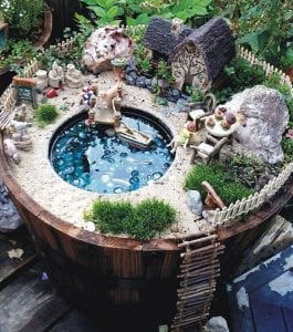 Whimsical Fairy Garden ideas