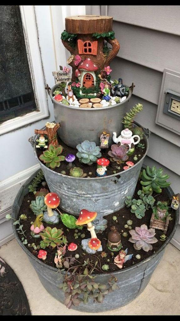 Whimsical Fairy Garden ideas | The garden!