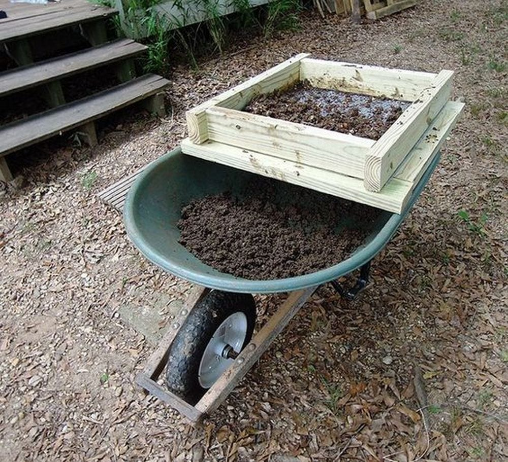 DIY Compost Sieve