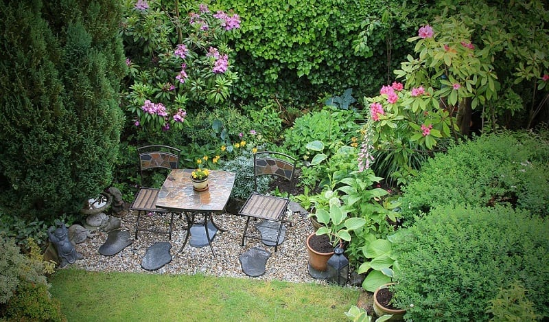 Traditional Zen gardens were large, open spaces, but these days they can be any size.
