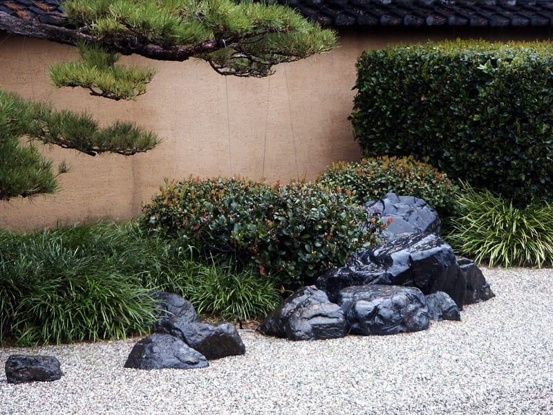You'll need rocks and boulders for your Zen garden.