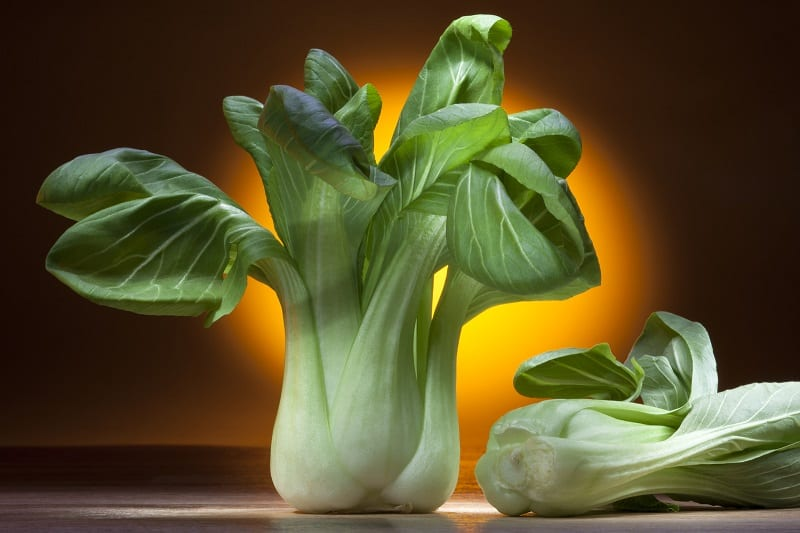 Pak Choi is quick to mature and packed full vitamins A and C as well as Calcium, Iron, and Folic Acid.