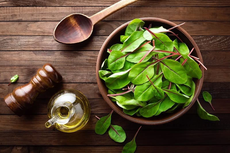 If you sow perpetual spinach in early autumn, you'll have a steady supply of tender young leaves throughout winter.