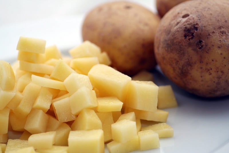 Gnat larvae love raw potato, which makes potato slices an inexpensive cheap way to measure the extent of the infestation and get rid of some larvae in the process.