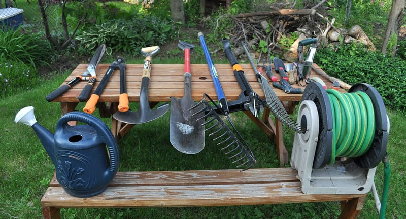 Make sure your tools are clean and sharp.