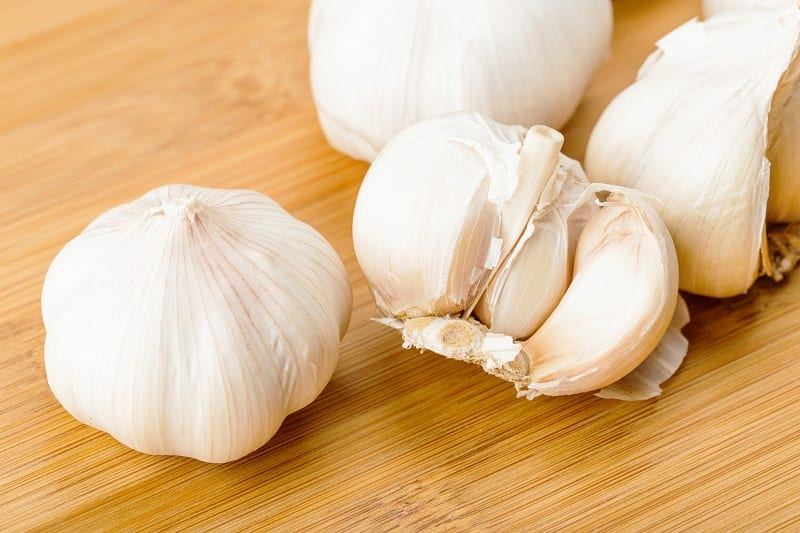 The pandemic has disrupted supply chains of garlic in China – which produces around 80 percent of the world's garlic.