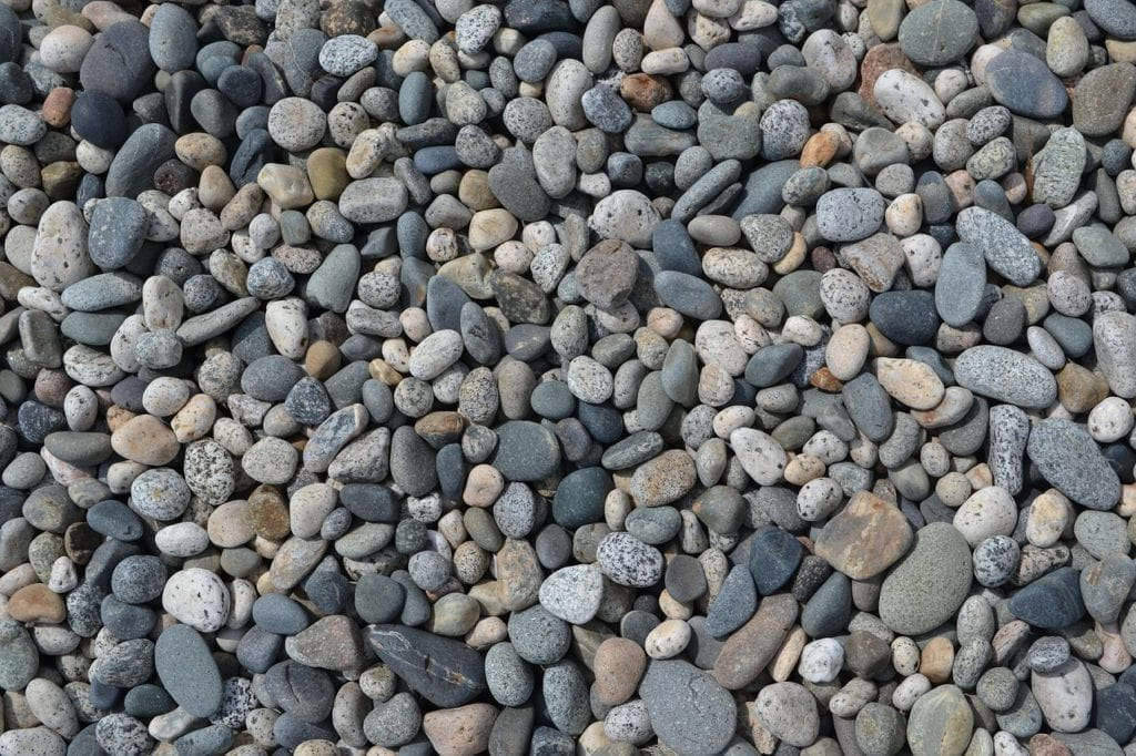 Loose stones can work collectively like a small retaining wall, preventing soil erosion.
