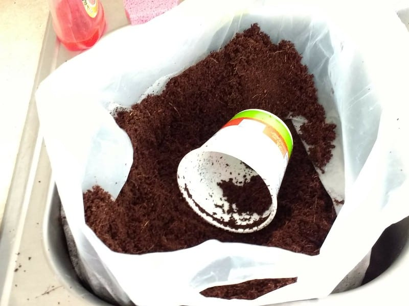 Coco peat is a soft, spongy soilless growing medium that may be added to soil or potting media to increase moisture retention, drainage, and aeration.