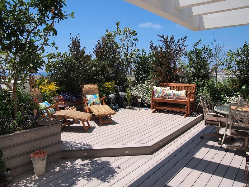 You don't want to spend time and money on a rooftop garden only to have it dismantled by a disapproving landlord or municipal worker.