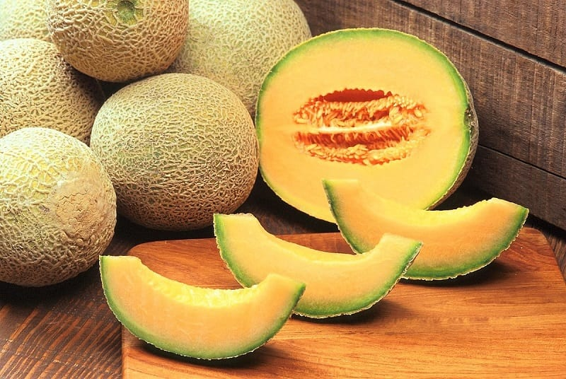 The fresh, sweet, pungent taste is reason enough to grow it, but cantaloupes are also full of nutrients such as vitamins A and C.