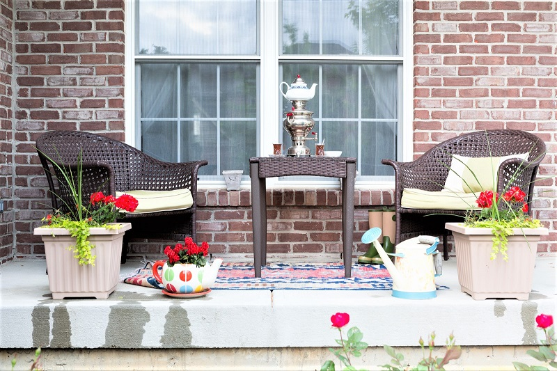 If you notice big sections of your wicker furniture coming loose, then you might need to call a professional for the repairs.