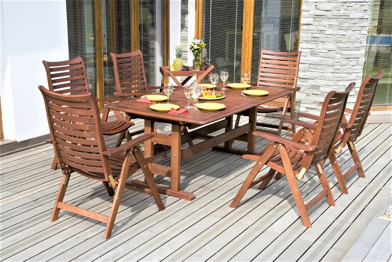 If the wood finish has grown rough over time, sand the ridges smooth with medium-grit sandpaper or a sanding sponge.