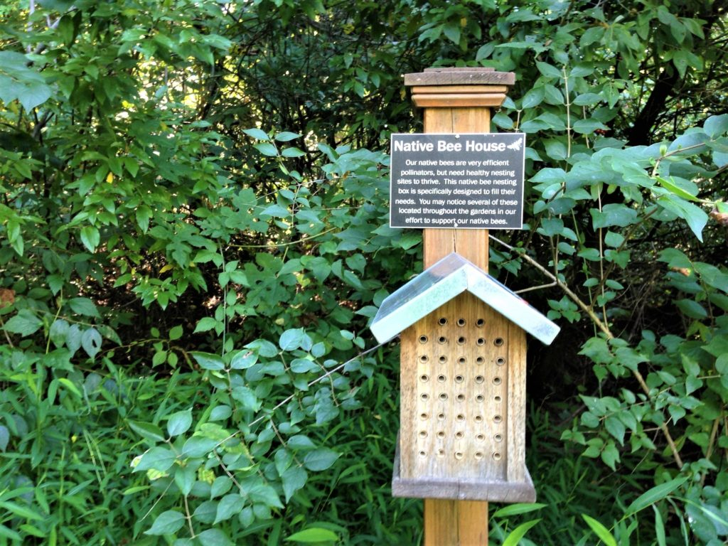 Some experts actually advise against large bee houses.
