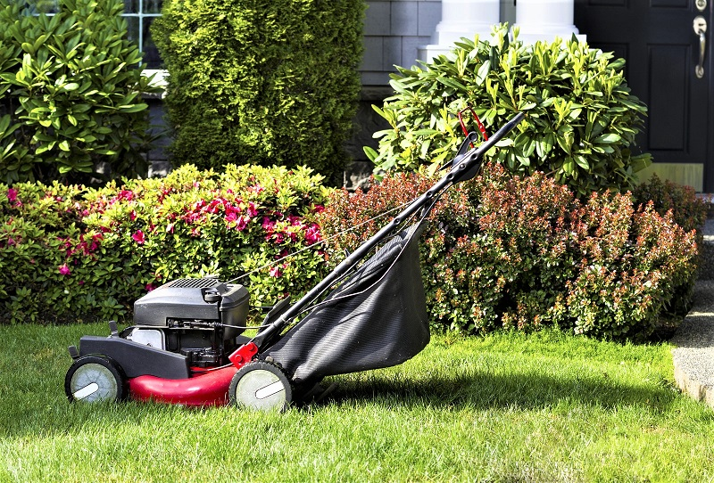 Few household machines are subject to so much use and abuse as lawnmowers.