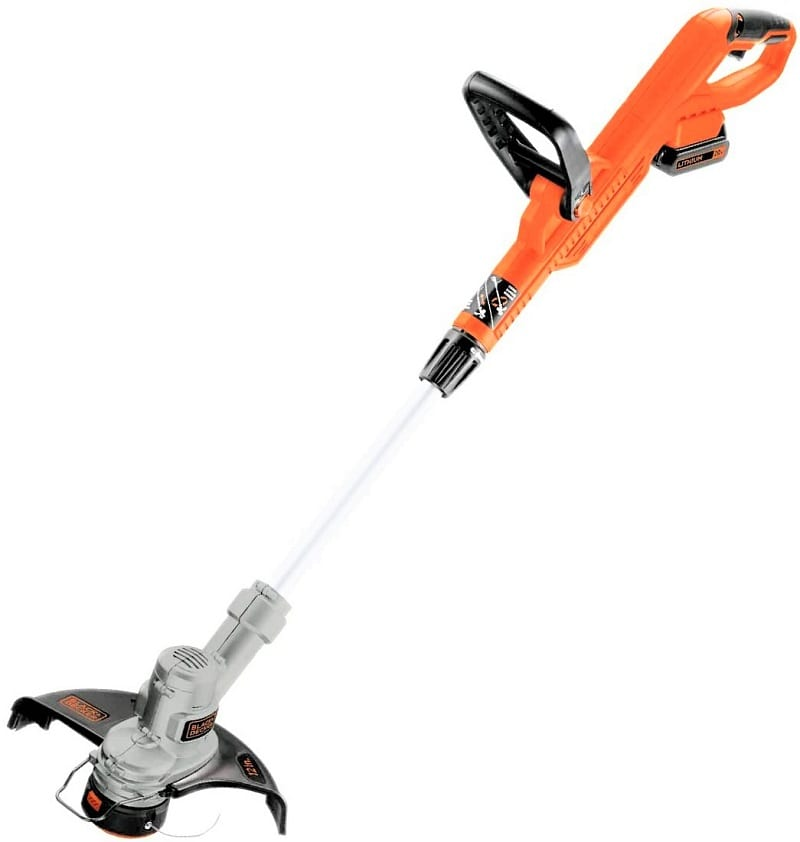 The Black and Decker LST300 is another cordless trimmer for a small garden or the average suburban lawn.