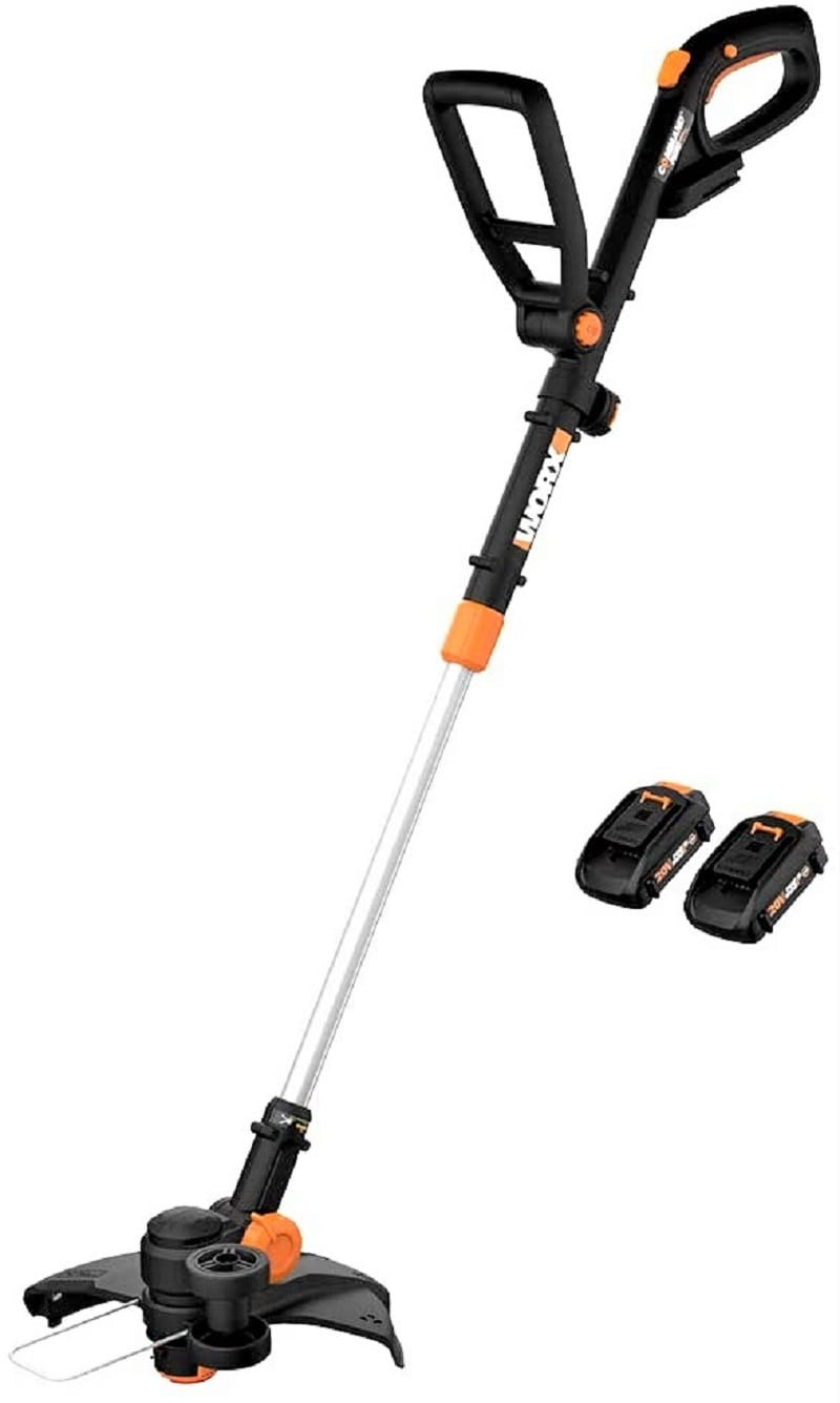 The Worx WG170 GT Revolution 20V Grass Trimmer is among the highest-rated, bestselling string trimmers on Amazon.