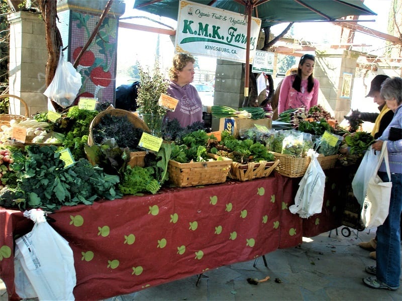 Organic farm products comprise the fastest growing sector of the US food industry