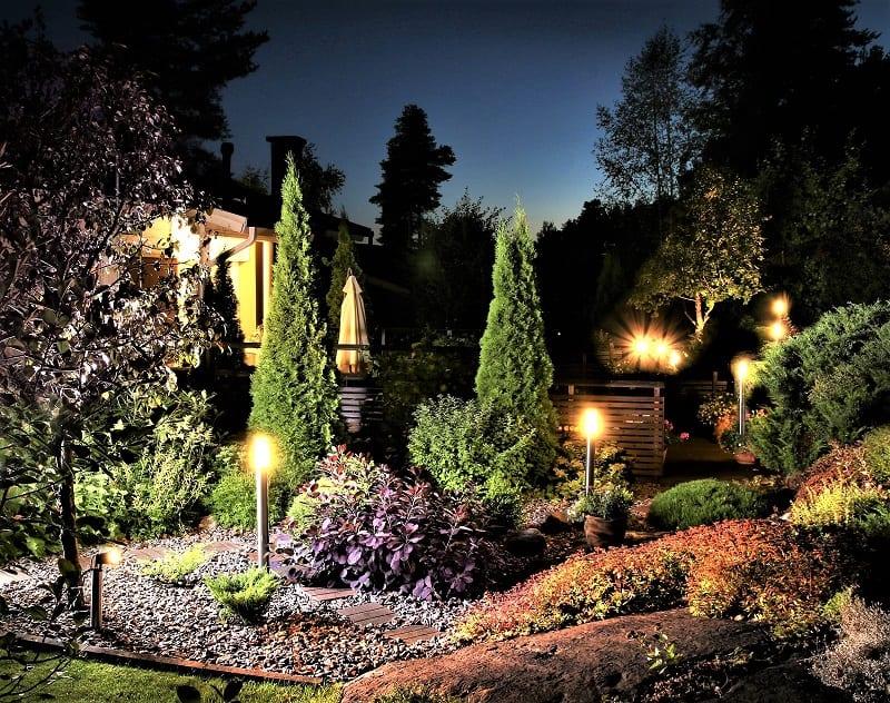 Good lighting can make your garden and backyard safer, more comfortable, and more useful.