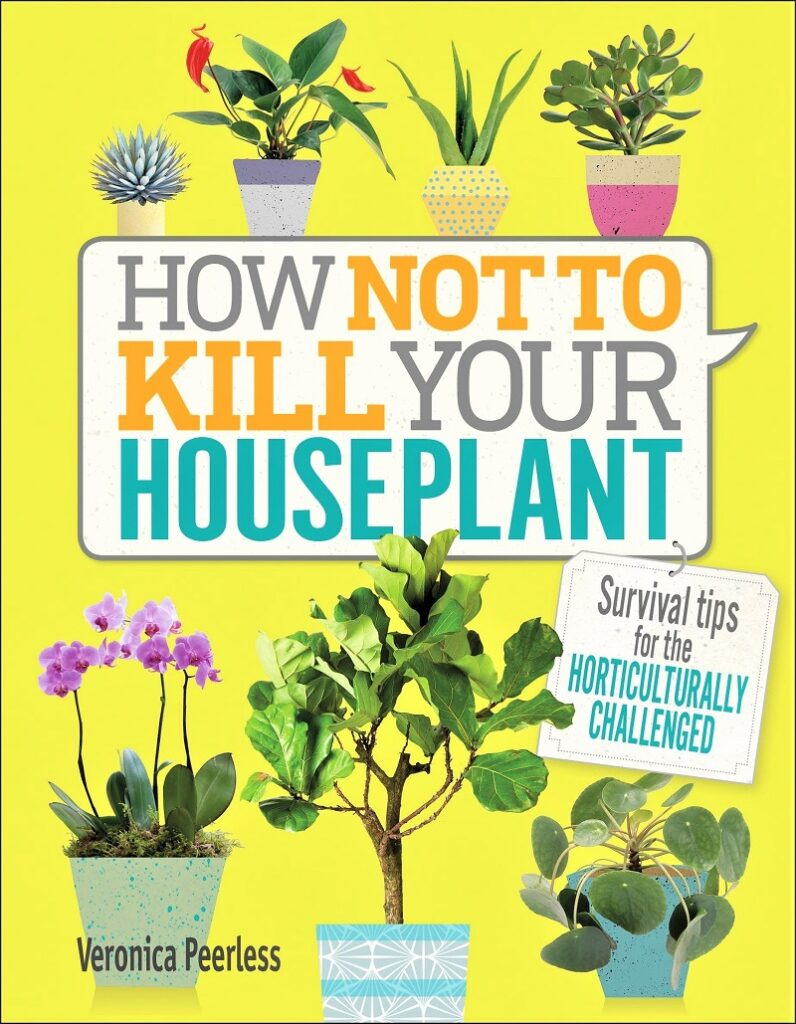 Get a copy of the recently published How Not to Kill Your Houseplant (Penguin Random House). The book, written by Veronica Peerless, covers everything from acquiring to potting to maintaining a plant.