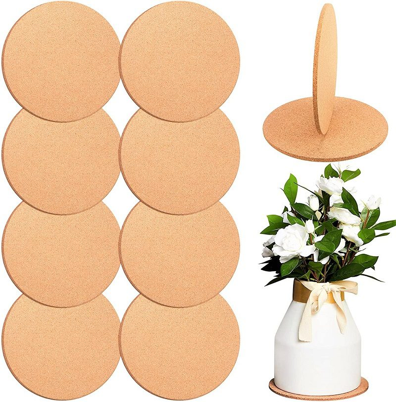 ou can easily trim GeSeraile Plant Coasters into any shape you want. Or you can just slip whole sheets under your potted houseplants as is. They come in a variety of sizes and thicknesses. You should be able to find some suited for your houseplants.
